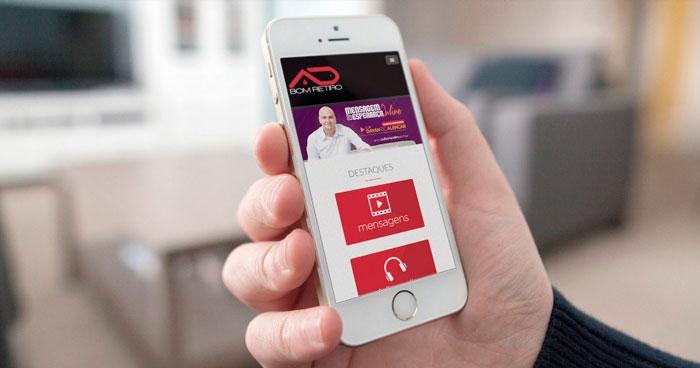 Criação de site Mobile AD Bom Retiro