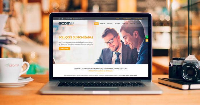 Criação de site ACOMIP